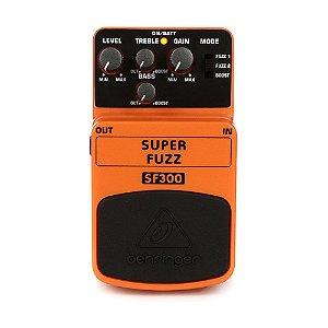Pedal para Guitarra Behringer SF300 Super Fuzz