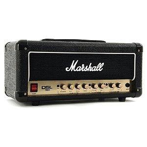 Cabeçote Valvulado Marshall DSL15H de 15W para Guitarra