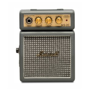 Micro Amplificador Marshall MS-2C-E Combo para Guitarra