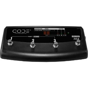 Pedal footswitch para linha CODE 25, 50 e 100 Marshall PEDL-91009