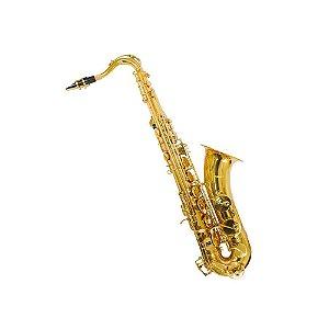 Sax Tenor Bb Benson BSTC-1L com chave de F# agudo e case luxo