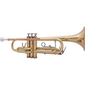 Trompete Benson Bb BTP-1L laqueado com case luxo