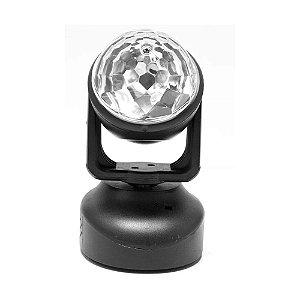 Moving Head Meia bola PLS ASTROMOVE com 6x LEDs 1W RGB