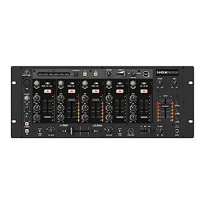 Mixer profissional p/ DJ de 5 canais NOX1010 Behringer com USB
