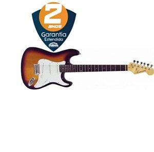 Guitarra Strato Benson Stratotuner 3TS sunburst c/ afinador