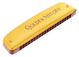 Harmômica Hohner Golden Melody Tremolo 2416/40 C (Dó) Gaita de boca M2416017