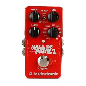 Pedal Reverb para Guitarra Hall Of Fame 2 TC Electronic