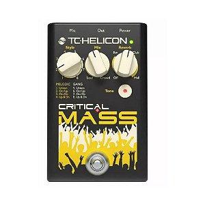 Pedal de Efeito para Voz TC Helicon Critical Mass