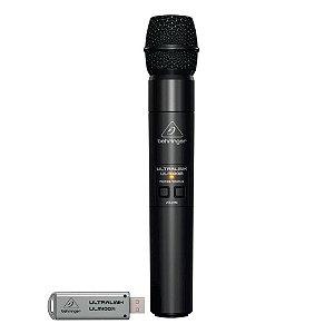 Microfone sem Fio Behringer ULM100-USB c/ receptor USB