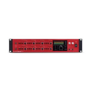 Interface de Áudio Behringer Thunderbolt Focusrite Clarett 8PreX 26 in/28 out