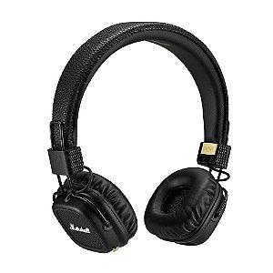 Fone de ouvido Marshall Major II Bluetooth Black