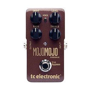 Pedal de Overdrive para Guitarra TC Electronic Mojo Mojo