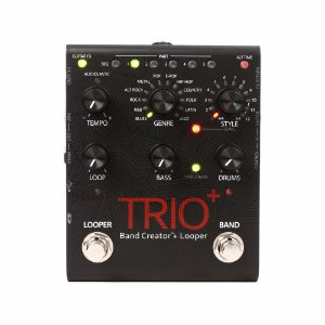 Pedal De Efeitos Para Guitarra Digitech Trio Plus Band Creator + Looper
