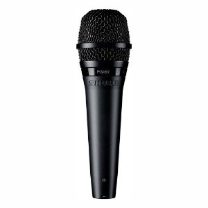 Microfone Profissional Para Instrumentos Shure PGA57 Dinâmico Cardióide