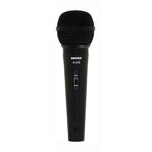 Microfone Para Voz Shure SV200 Dinâmico Cardióide