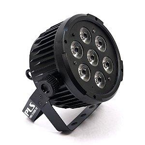 Refletor de LED PLS Power Led RGBWA DMX 12W