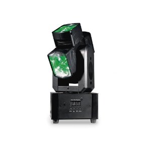 Moving Head PLS Four Square LED DMX RGBW 12W Bivolt