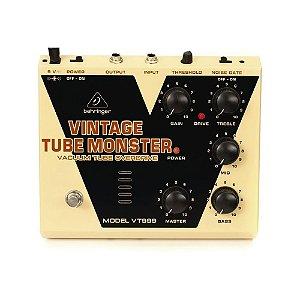 Pedal de Efeito para Guitarra Behringer VT999 Tube Monster Overdrive Valvulado