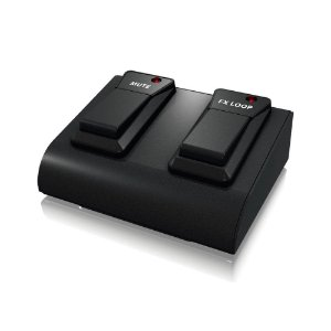 Pedal Footswitch Duplo Bugera FSB102B para Linha VEYRON e BXD