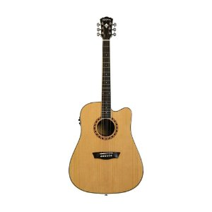 Pack violao Dreadnought - WD10CEPACK - WASHBURN