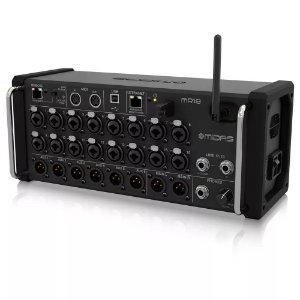 Mesa de Som Digital Midas MR18 Mixer de 18 Canais