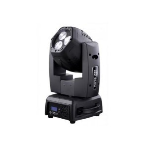 Moving head LED Beam de duas saidas e tilt infinito DUO 300 FREE - PLS