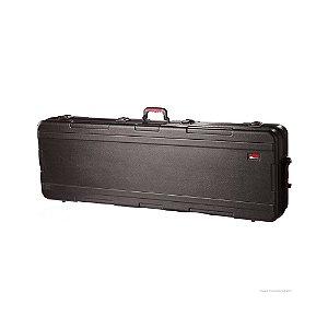 Case para Teclado de 88 Teclas Gator GKPE-88SLXL-TSA em Polietileno Militar com Rodas