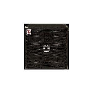 Caixa para Contrabaixo Eden EX410-4 600W 4 falantes de 10'' polegadas 4 Ohms