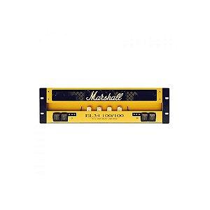 Amplificador Valvulado para Guitarra Marshall EL34-100/100 Rack 100W+100W