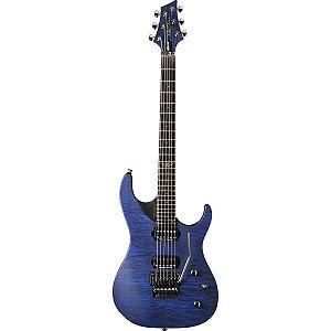 Guitarra Washburn PXM10FRQTBLM Parallaxe Quilt Blue com Bag