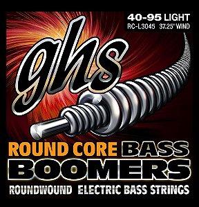 Encordoamento para Contrabaixo GHS L3045 Light (Escala Longa) Série Bass Boomers (contém 4 cordas)