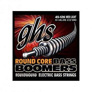 Encordoamento para Contrabaixo GHS RC-5ML-DYB Medium Light (Escala Longa) Série Bassics (contém 5 cordas)
