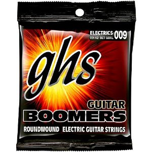 Encordoamento para Guitarra Elétrica GHS GBXL Extralight Série Guitar Boomers (contém 6 cordas)