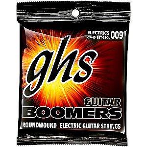 Encordoamento para Guitarra Elétrica GHS GBCL Custom Light Série Guitar Boomers (contém 6 cordas)