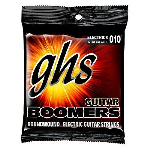 Encordoamento para Guitarra Elétrica GHS GBTNT Thin-Thick Série Guitar Boomers (contém 8 cordas)