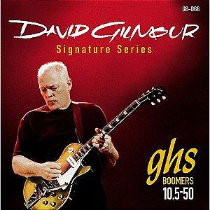 Encordoamento para Guitarra Elétrica GHS GB-DGG Signature David Gilmour (contém 6 cordas)