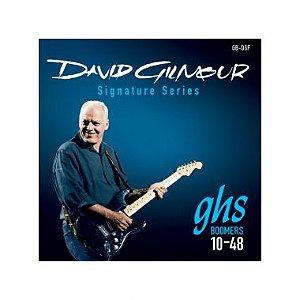 Encordoamento para Guitarra Elétrica GB-DGF Custom Light Série Nickel Rockers (contém 6 cordas)