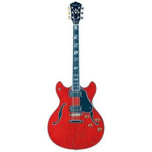 Guitarra Semiacústica Washburn HB35WR Hollowbody Cherry