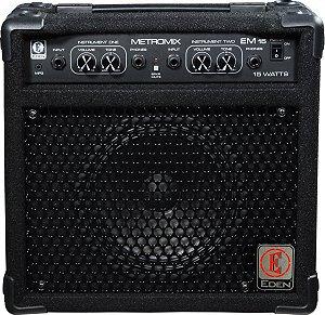 Combo para Contrabaixo Eden EM15-B Amplificador 15W 110V