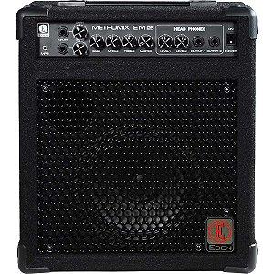 Combo para Contrabaixo Eden EM25-B Amplificador 25W 110V