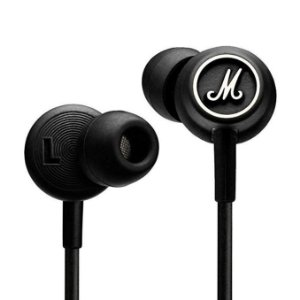 Fone de ouvido Marshall Mode B&W In Ear com Microfone