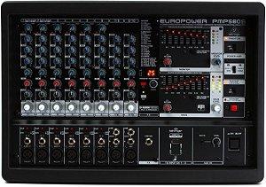 Mesa de Som Amplificada Behringer PMP580S 10 Canais