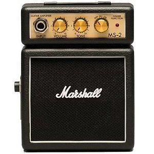 Micro Amplificador Marshall MS-2E Combo para Guitarra