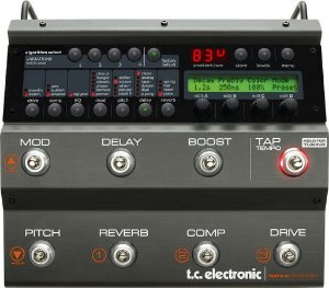 Pedaleira TC Electronic Nova System com 6 Blocos de FX