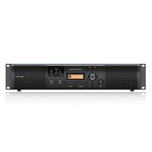 Amplificador de Potência Behringer NX6000D com DSP 2 Canais 6000W