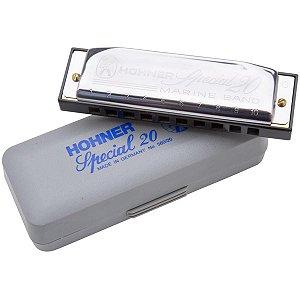 Harmônica Diatônica Hohner Special 20 D 560/20 Gaita de Boca em D (Ré)