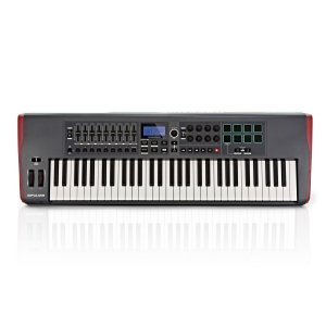Teclado Controlador Novation Impulse 61 USB/MIDI 61 Teclas