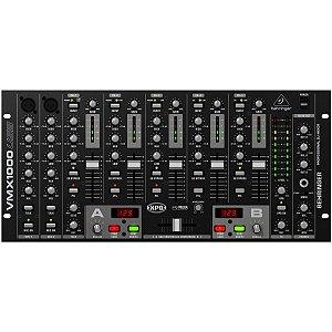 Mixer para DJ Behringer VMX1000USB Pro Mixer 5 Canais