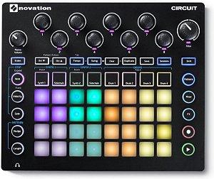Controlador DJ Novation Circuit Sintetizador MIDI/USB