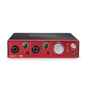 Interface de Áudio USB Focusrite Clarett 2Pre USB